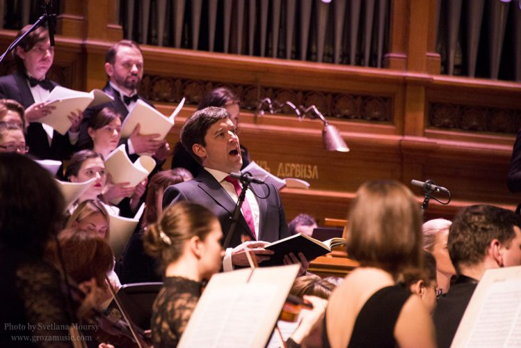 2017. St. Paulus Oratorio by Pavel Kogan and the MSSO. Photo by Svetlana Moursy.